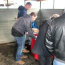 Event mit mobiler Grillhütte